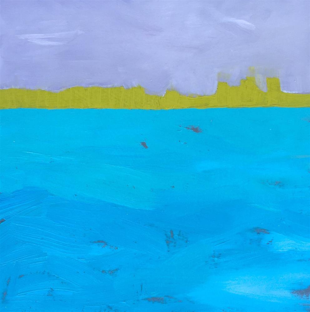 """Landscape 3"" original fine art by Janet Bludau"