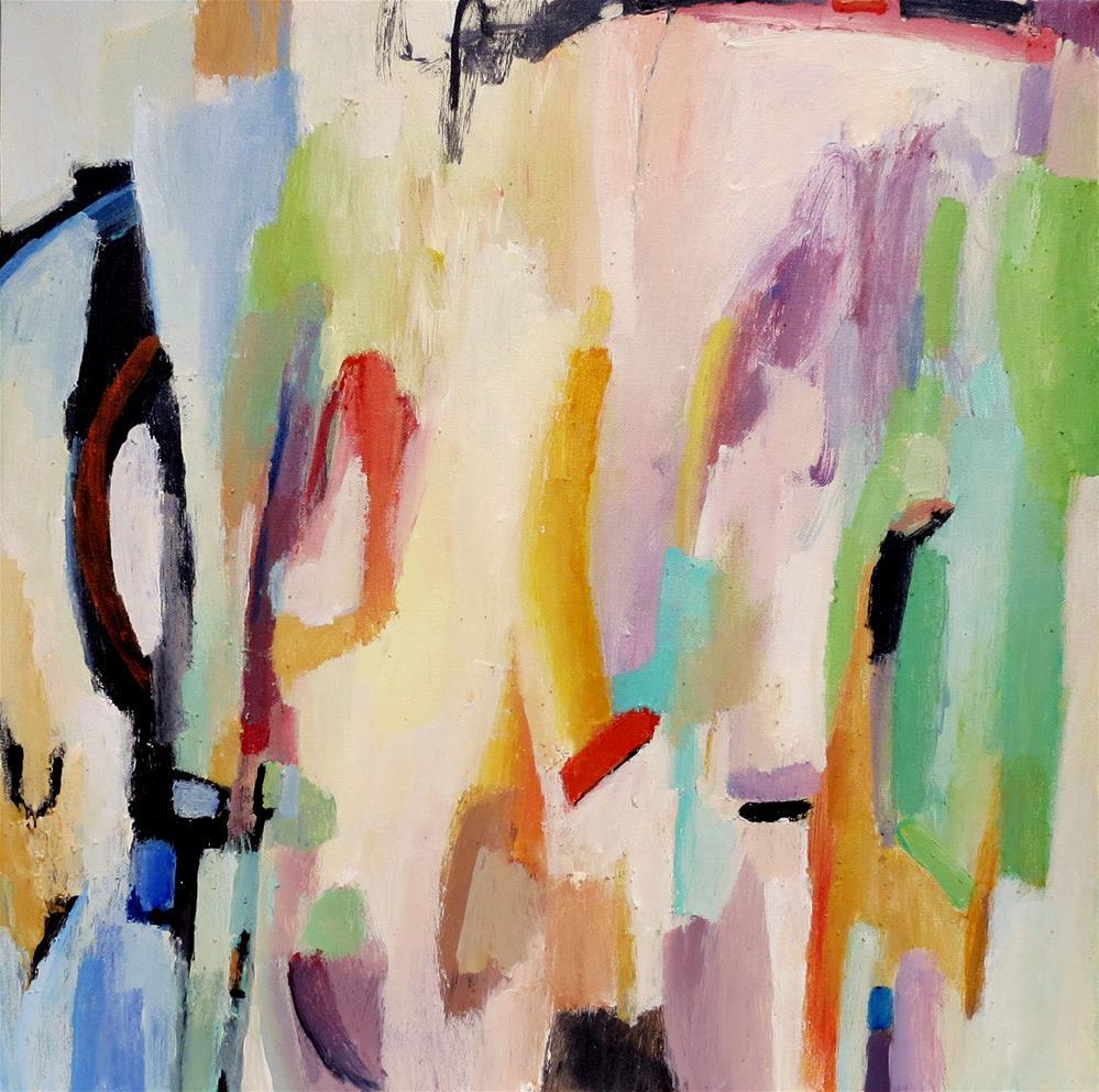 """Night Meets the Morning Sun"" original fine art by Nava Judith"