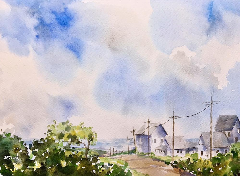 """Dreaming of Summer"" original fine art by Judith Freeman Clark"