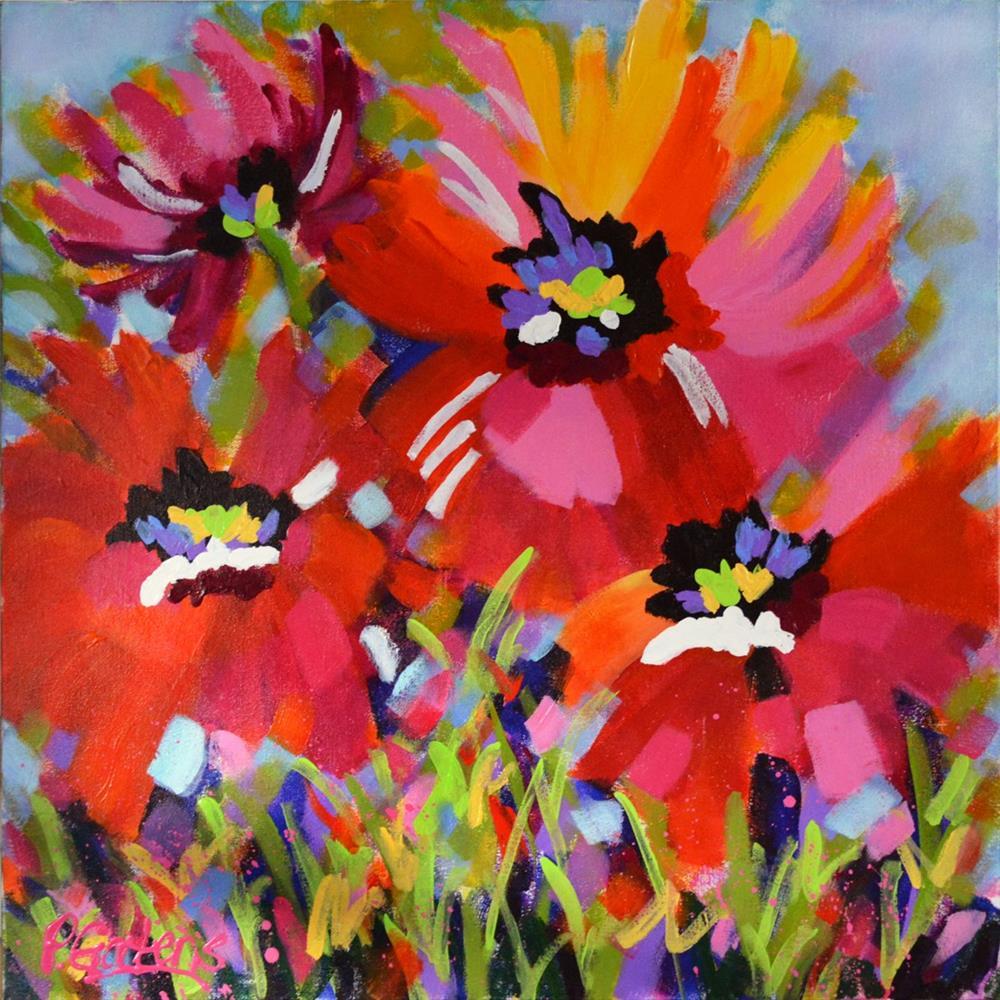 """Reds and Pinks"" original fine art by Pamela Gatens"