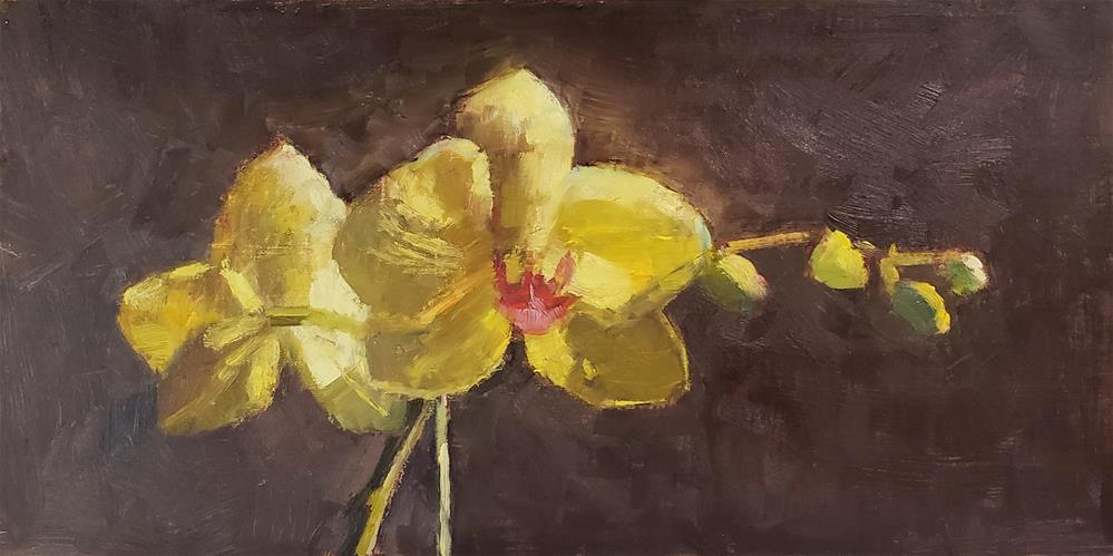 """Orchid Glow "" original fine art by Barbie Smith"