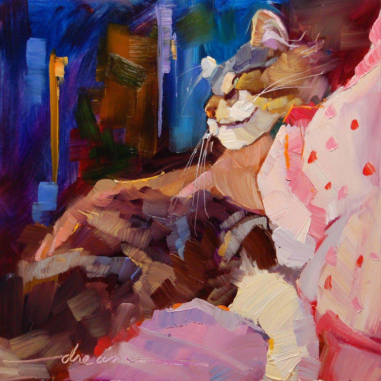 """Found"" original fine art by Dreama Tolle Perry"
