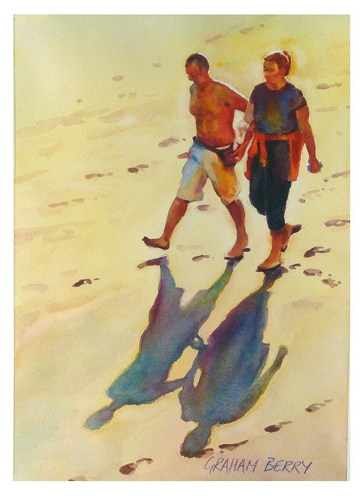 """Morning walk."" original fine art by Graham Berry"