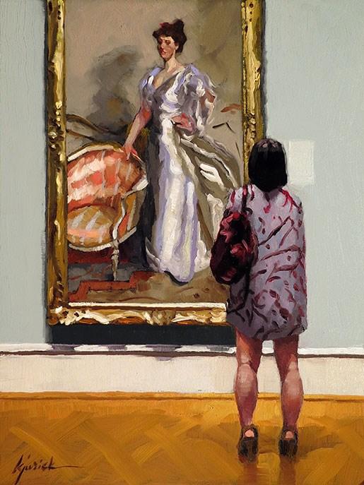 """The Shorter Version"" original fine art by Karin Jurick"