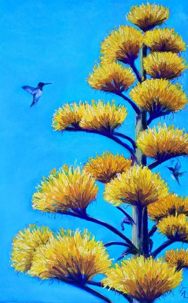 """Sweet Spire"" original fine art by Anna Lisa Leal"
