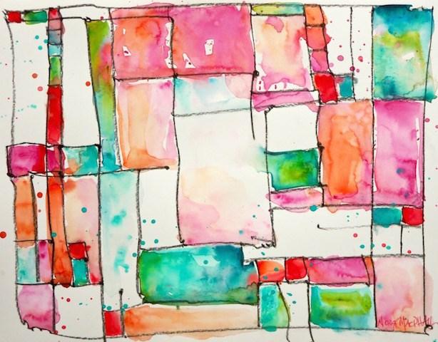 """six"" original fine art by Nora MacPhail"