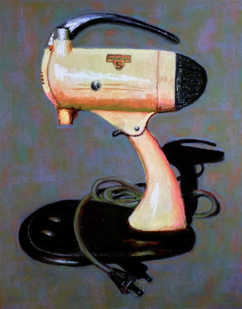 """Mixmaster"" original fine art by Cristine Kossow"