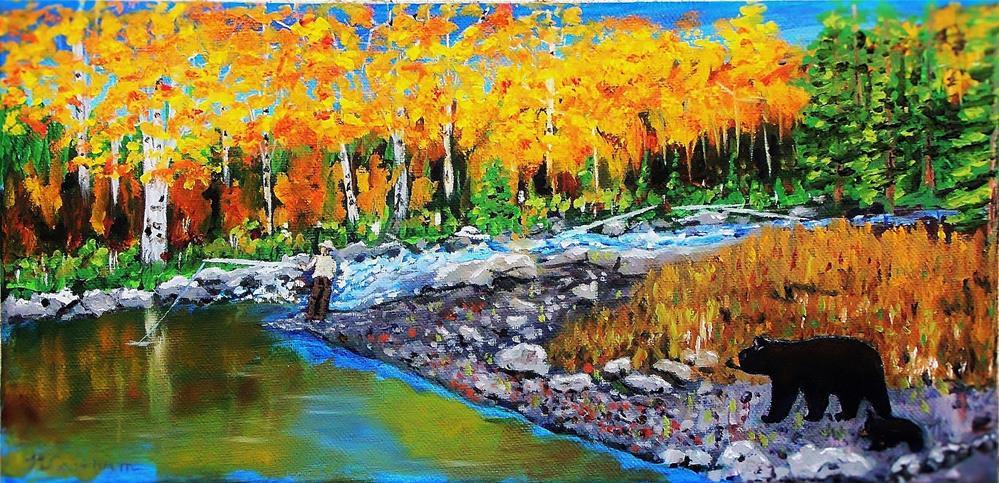 """Look Around, Joe"" original fine art by Mike Caitham"