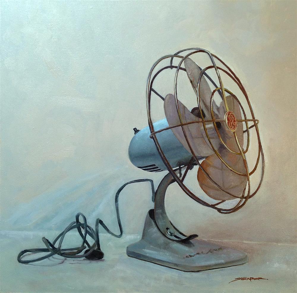 """""""GE Fan"""" original fine art by Scott Shearer"""