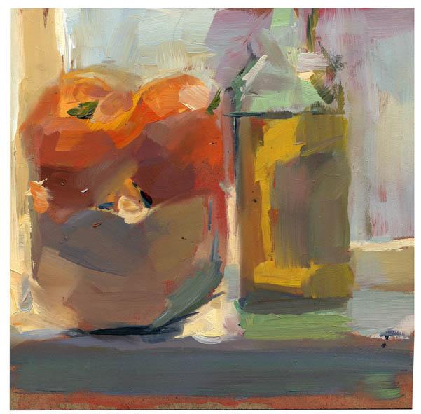 """#767 Olive Oil"" original fine art by Lisa Daria"