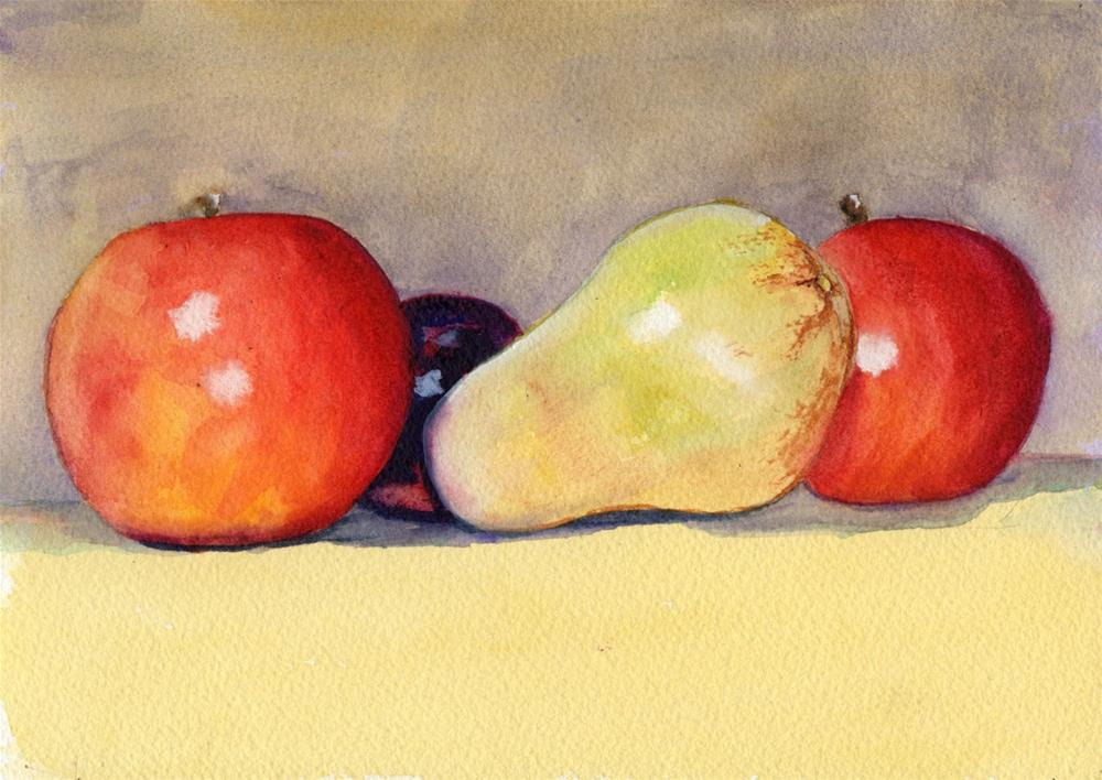 """Fruit Still Life"" original fine art by Bunny Griffeth"