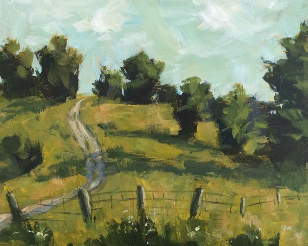 """Kentucky Drive"" original fine art by Shannon Bauer"