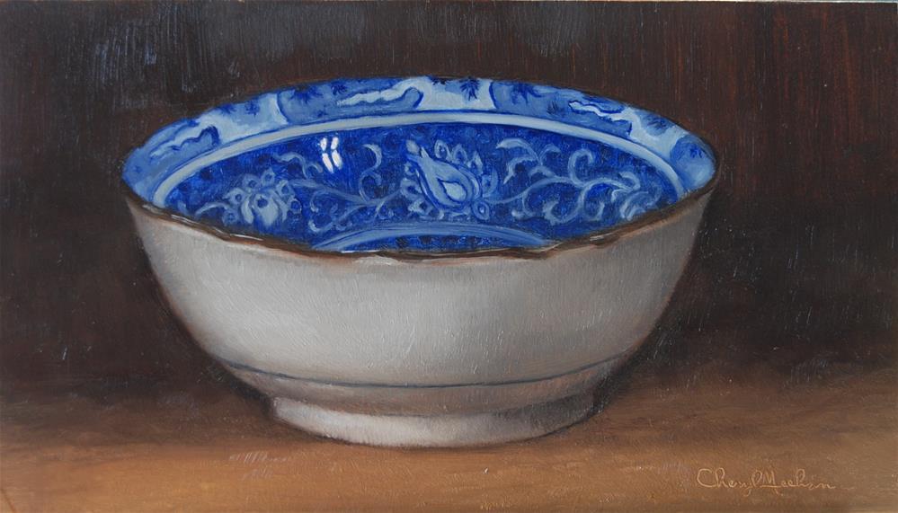 """Chinese Bowl"" original fine art by Cheryl Meehan"