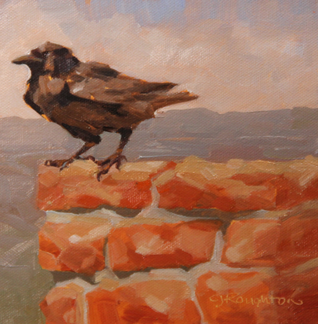"""Ravens of Bryce Canyon #3"" original fine art by C J Roughton"