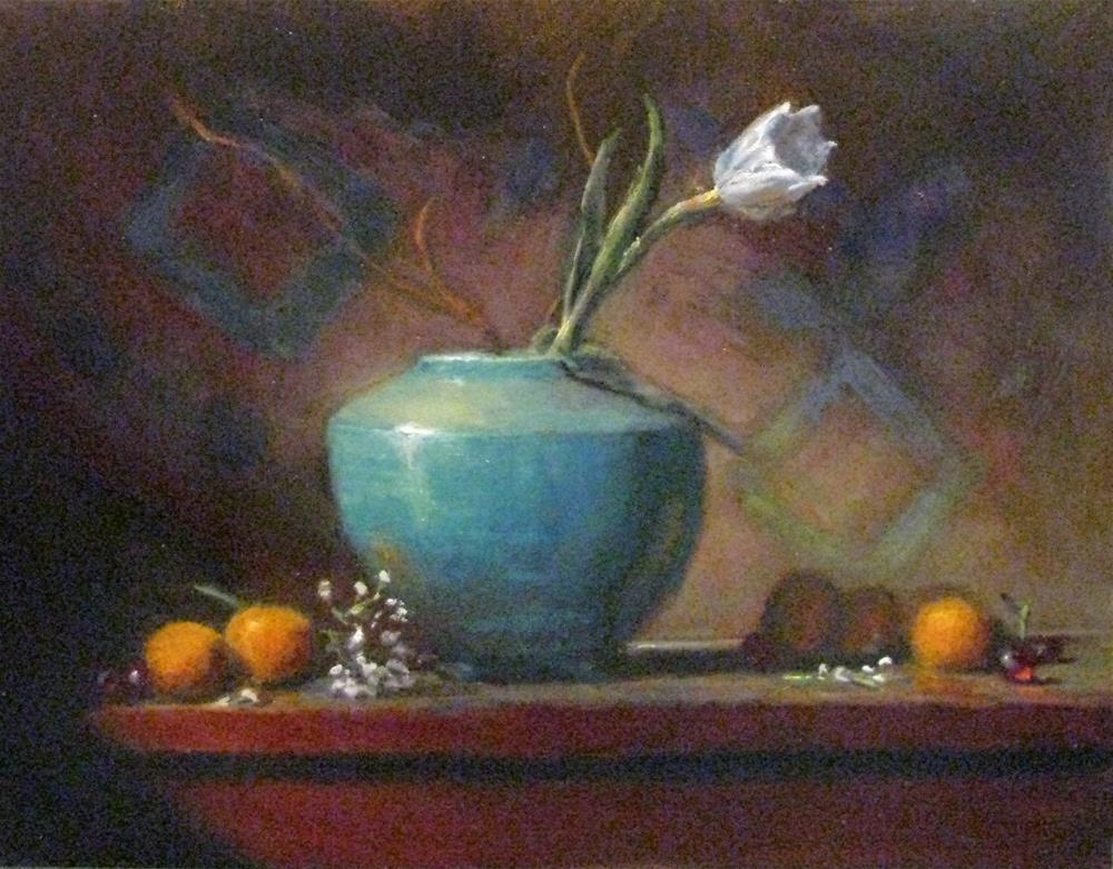 """""""color runs"""" original fine art by tom dawson"""