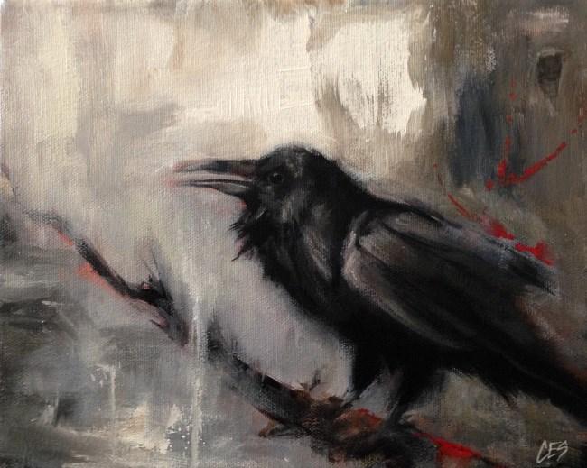 """""""Calling"""" original fine art by ~ces~ Christine E. S. Code"""
