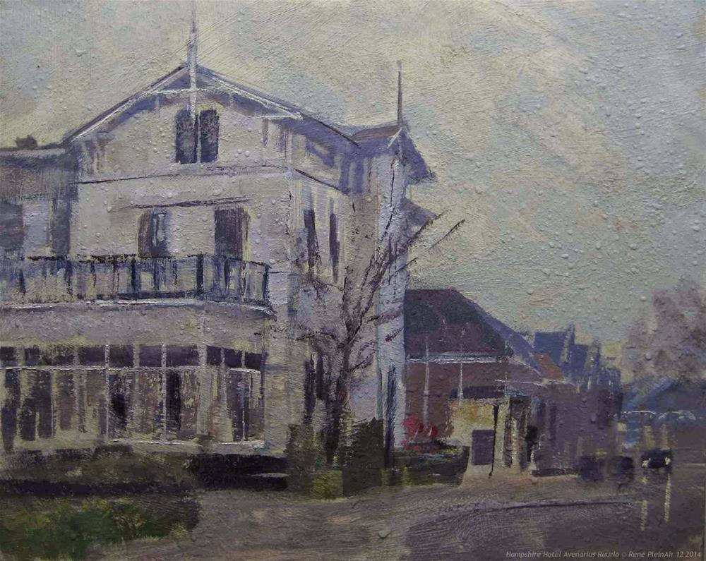 """Hampshire Hotel Avenarius Ruurlo, The Netherlands"" original fine art by René PleinAir"