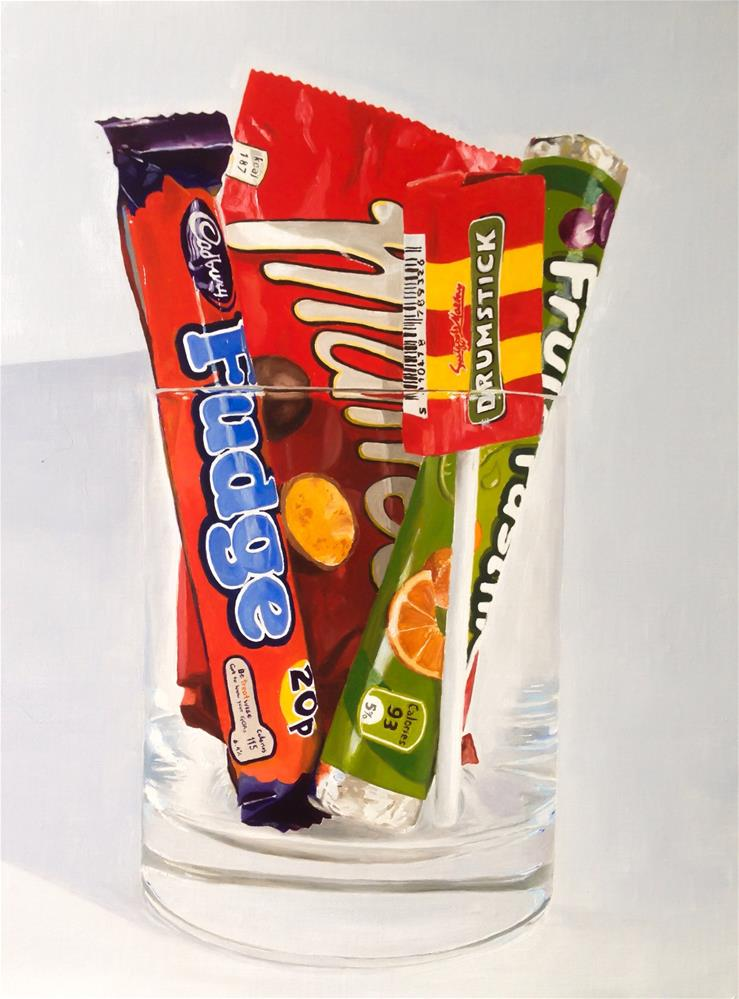 """Sweets"" original fine art by James Coates"
