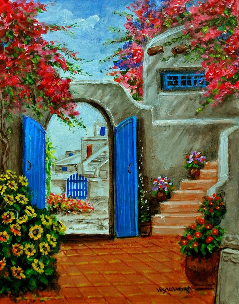 """landscape1"" original fine art by vishalandra dakur"