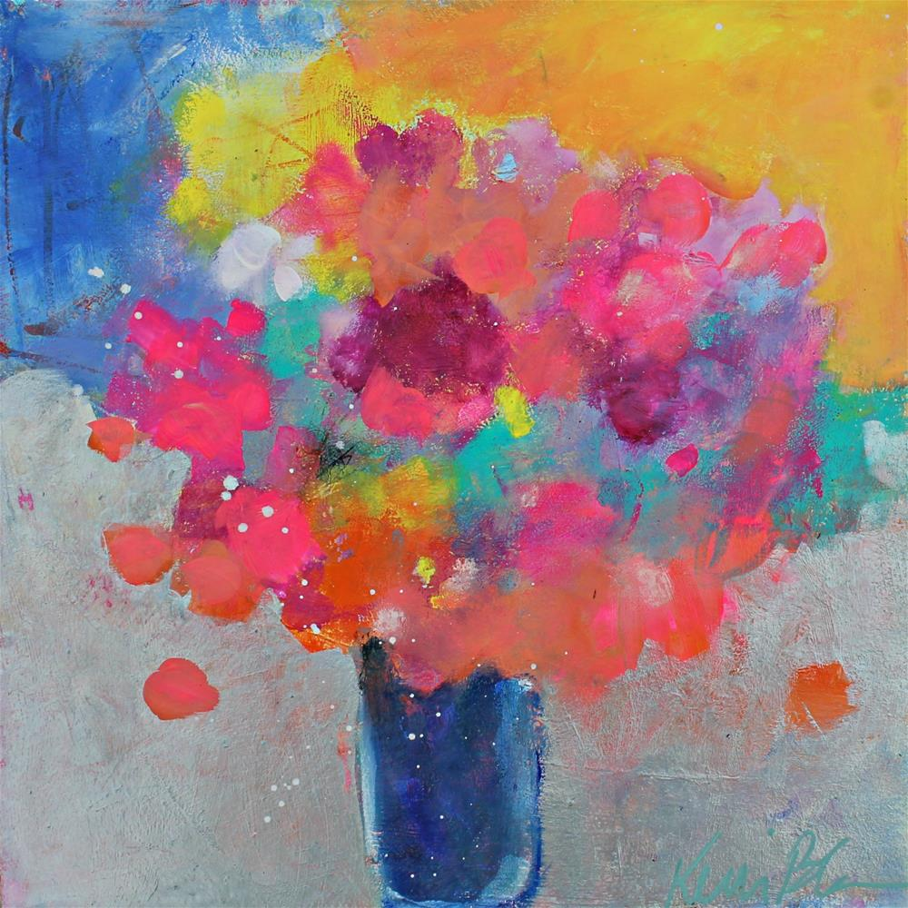 """Morning Bouquet "" original fine art by Kerri Blackman"
