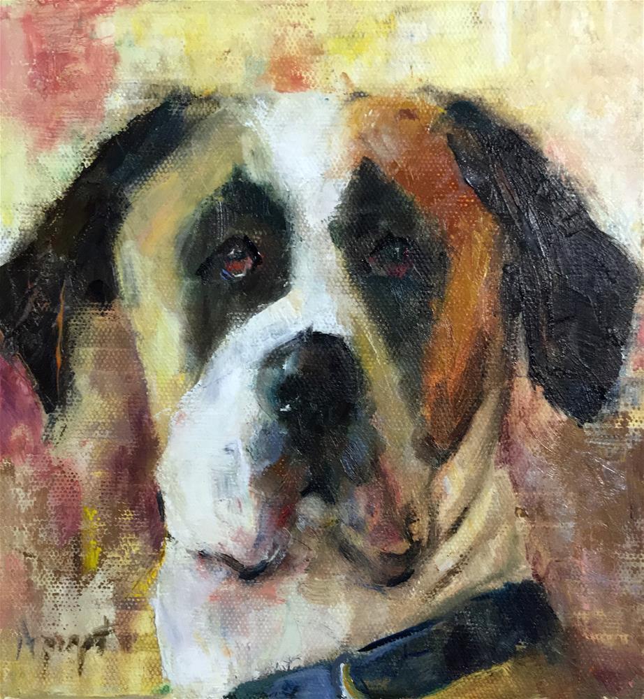 """Great Dane"" original fine art by Anne Marie Propst"