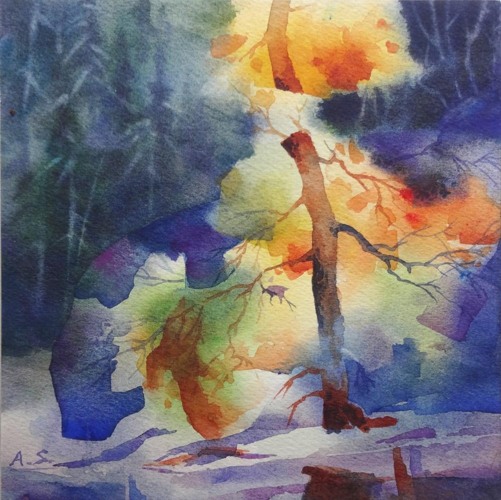 """""""Autumn Glow"""" original fine art by Arena Shawn"""