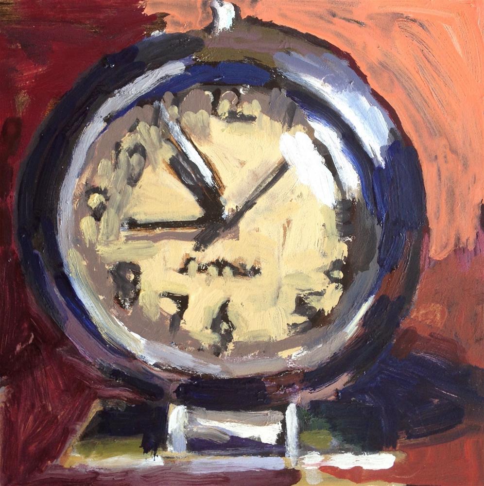"""""""It's About Time III"""" original fine art by Pamela Hoffmeister"""