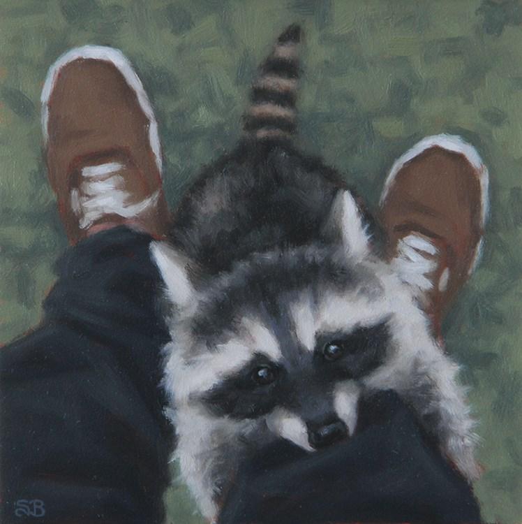"""""""Cricket"""" original fine art by Sarah Becktel"""