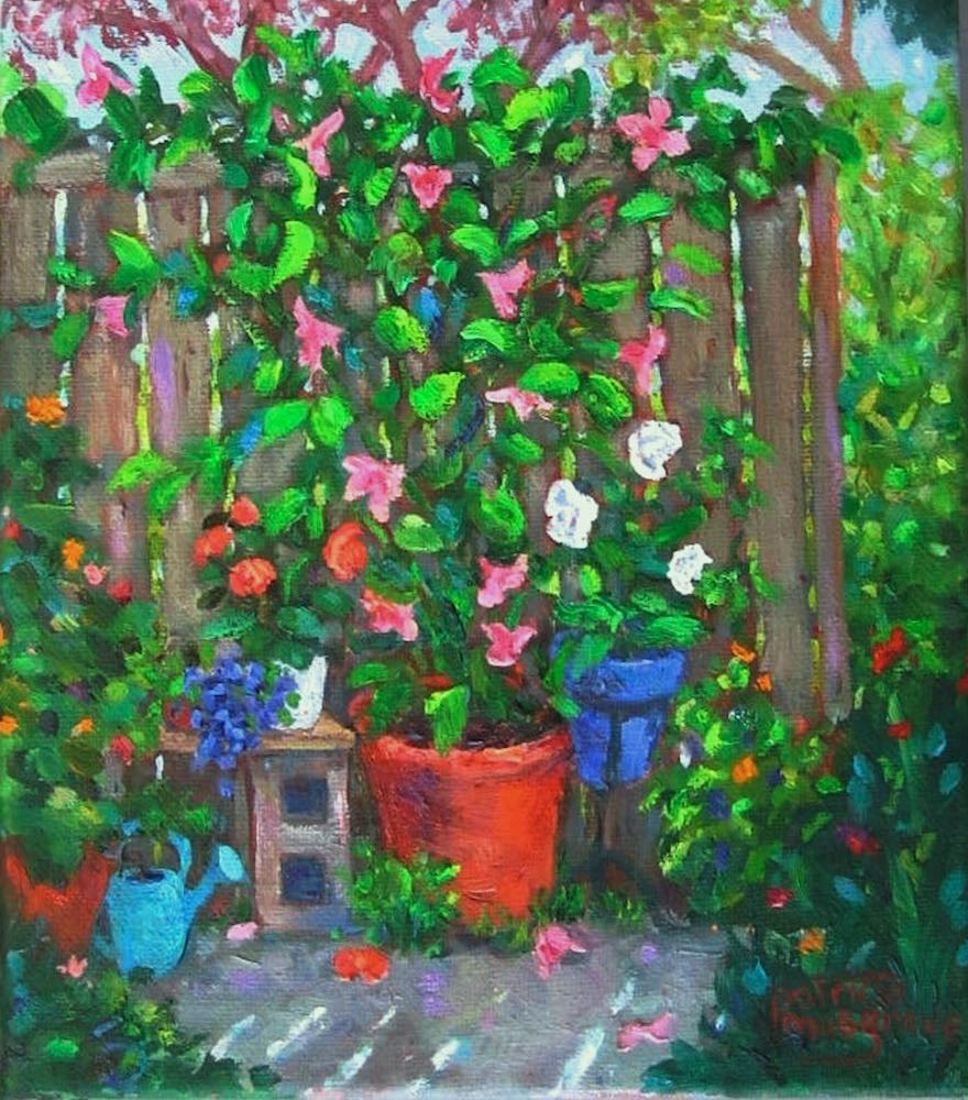 """""""Remnants of Summer"""" original fine art by Patricia Musgrave"""