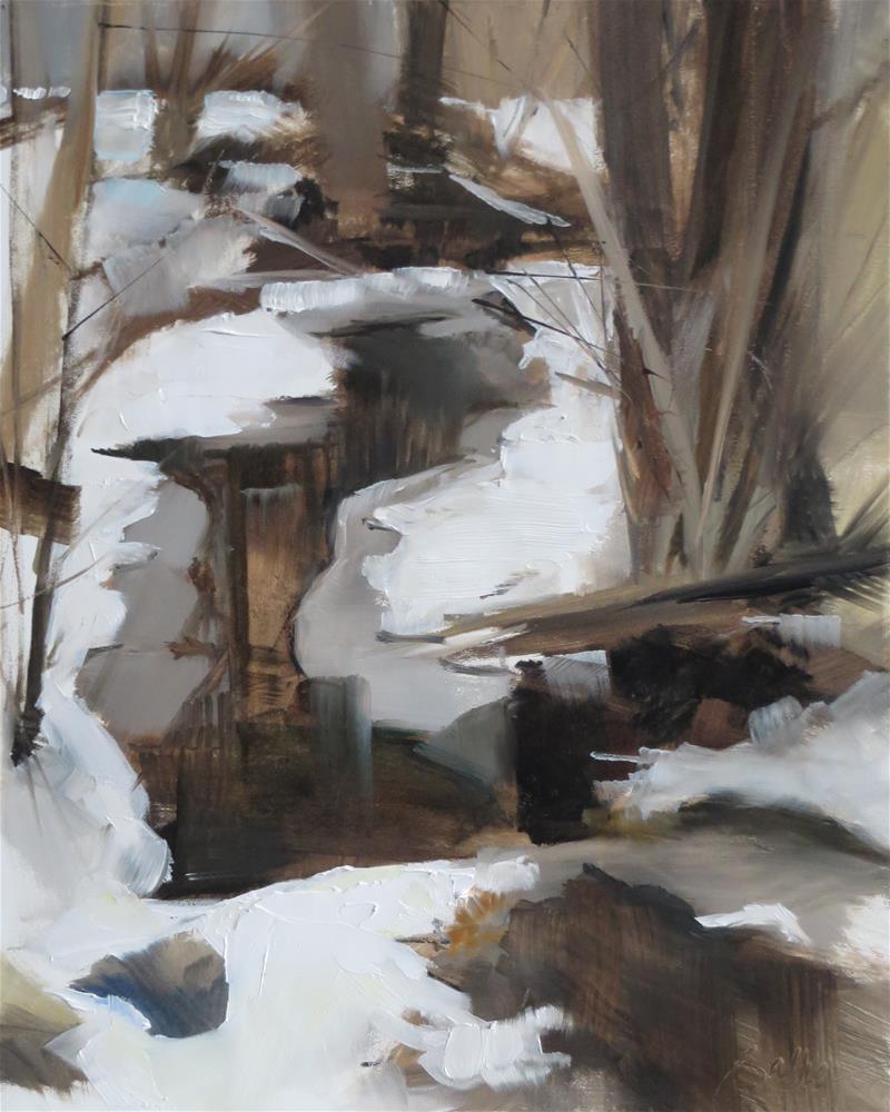 """Late Winter"" original fine art by Beth Bathe"