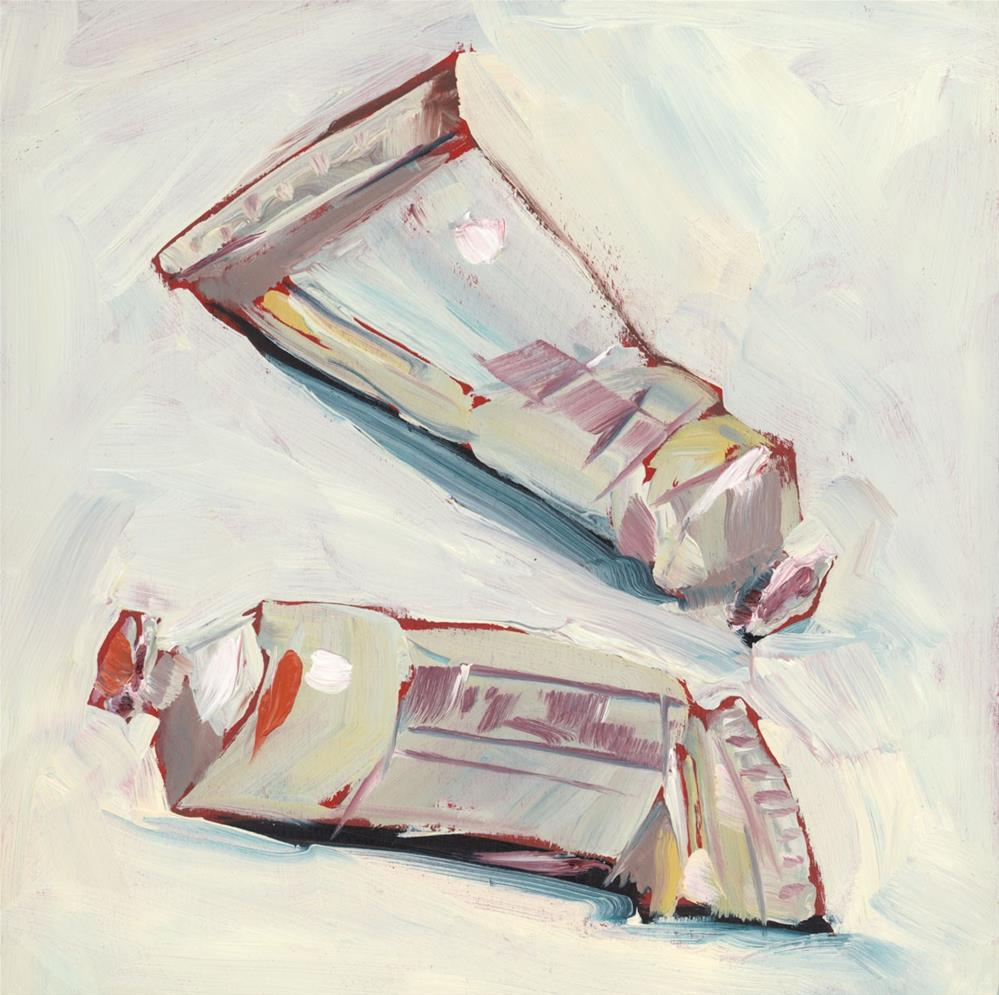 """1299: Two Tubes"" original fine art by Brian Miller"