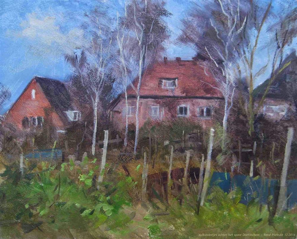 """Ellotments Doetinchem, The Netherlands"" original fine art by René PleinAir"