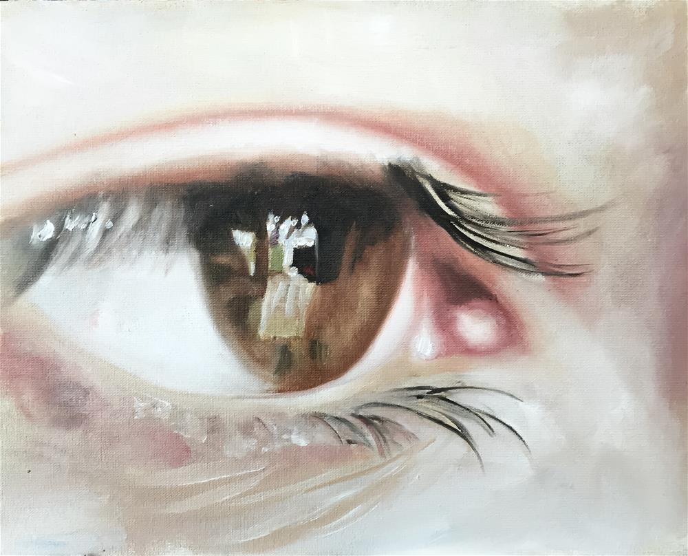 """Eye"" original fine art by James Coates"