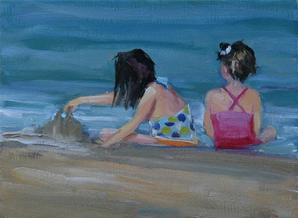 """sisters"" original fine art by Carol Carmichael"