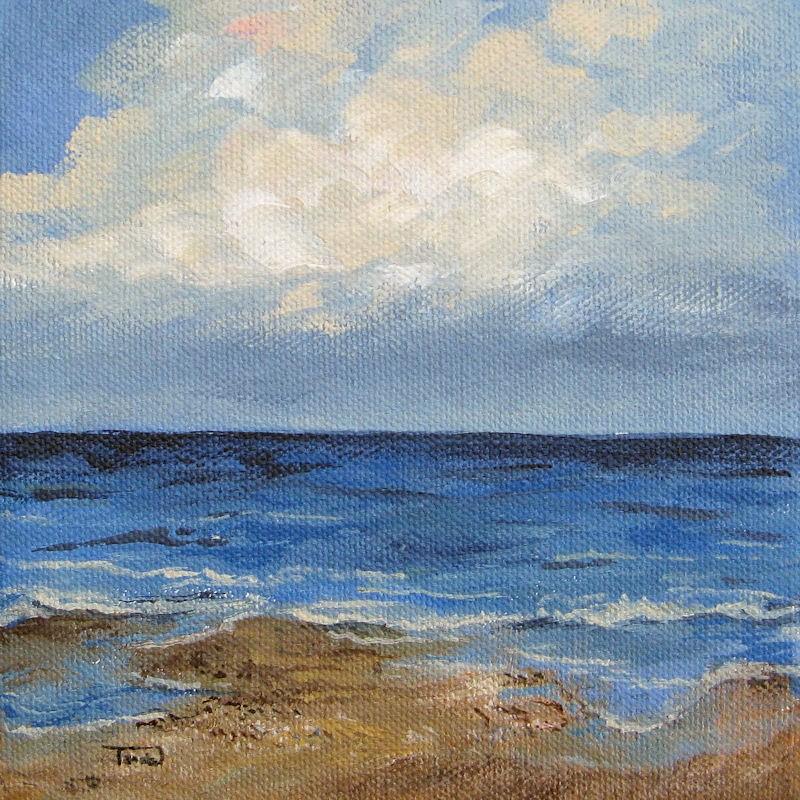 """""""Low Tide"""" original fine art by Torrie Smiley"""
