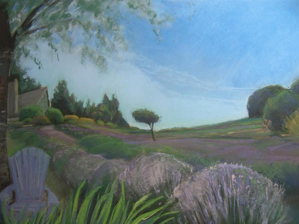 """""""A Place to Breathe"""" original fine art by Sarah Peroutka"""