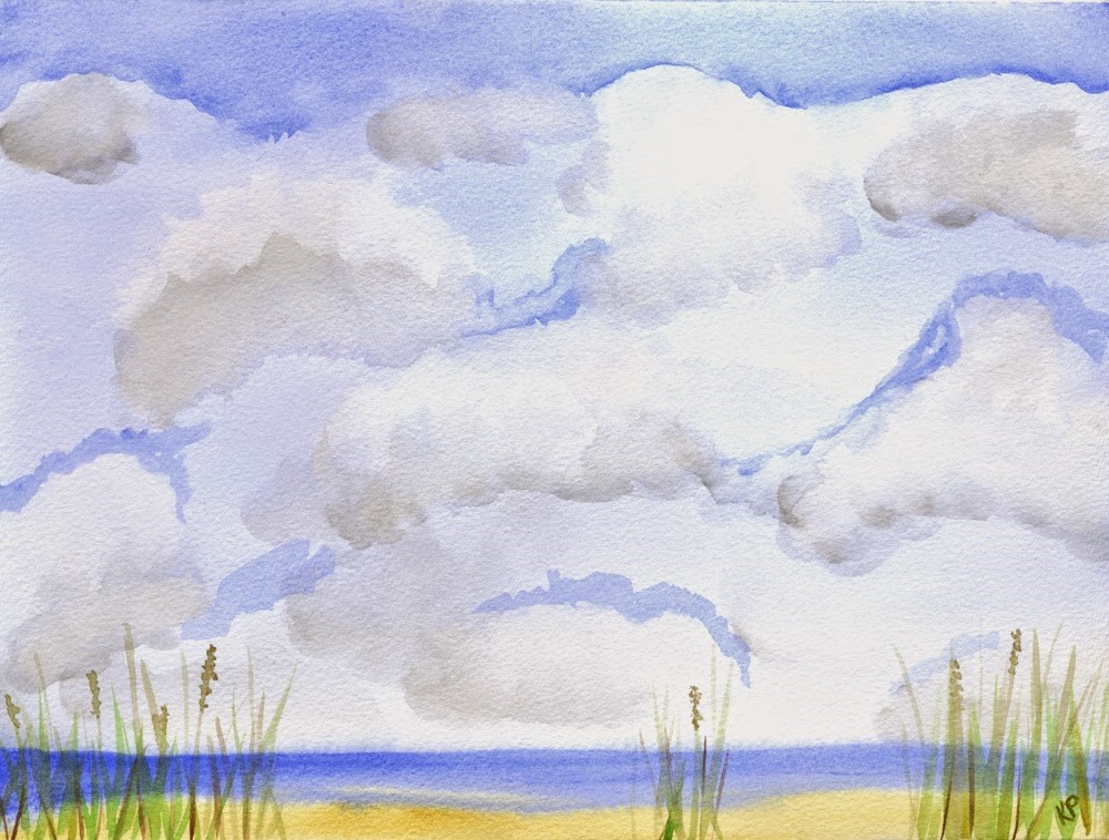 """Summertime Dreams"" original fine art by Kali Parsons"