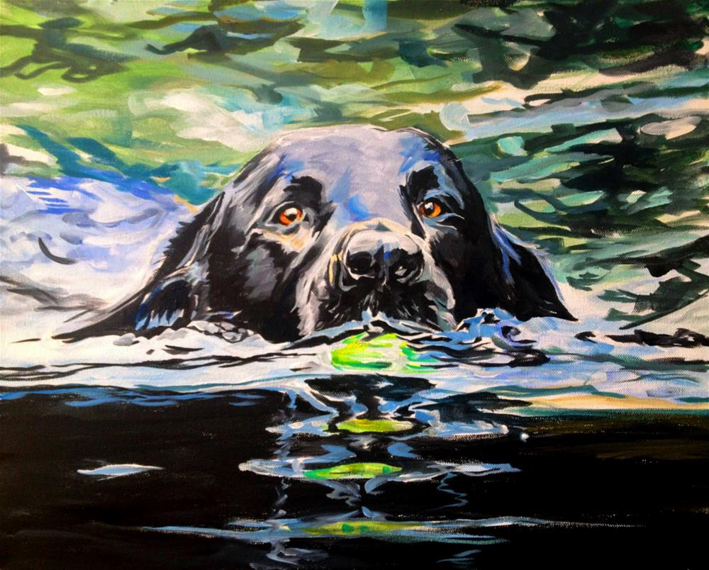 """Molly's Ebb"" original fine art by Lauren Kuhn"