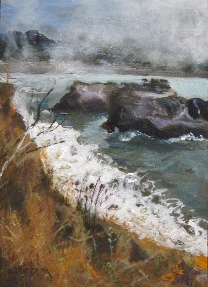 """""""The Headlands, Another View"""" original fine art by Diane Campion"""