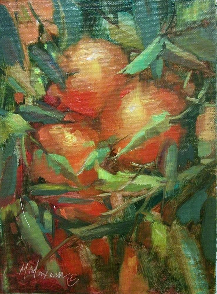 """""""Behind The Branches"""" original fine art by Mary Maxam"""