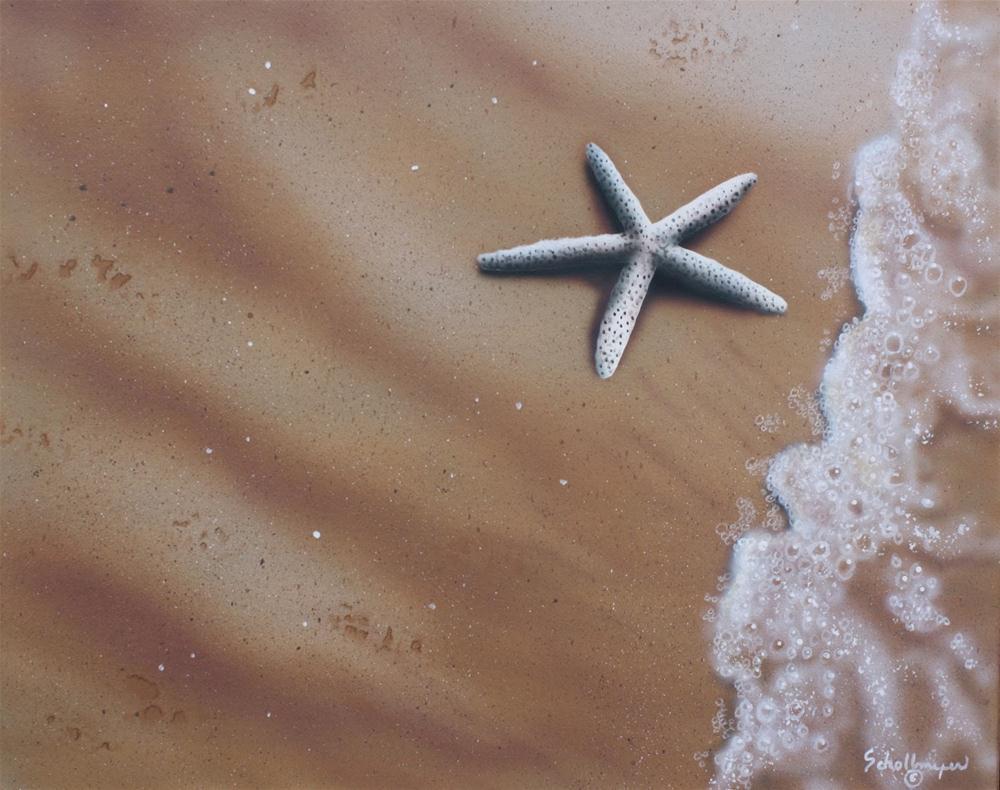 """Ebb Tide # 5"" original fine art by Fred Schollmeyer"