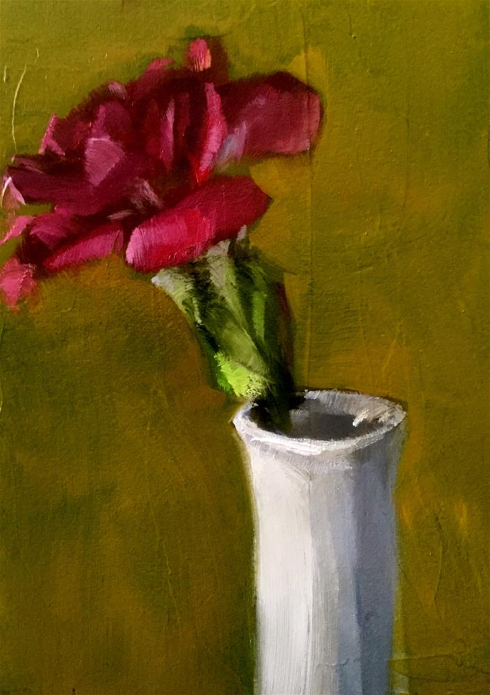 """Violet Carnation"" original fine art by Gary Bruton"
