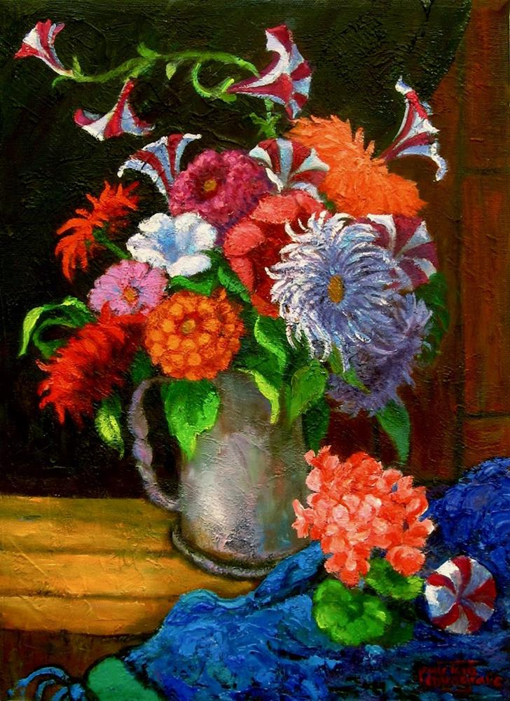 """""""Leftovers"""" original fine art by Patricia Musgrave"""