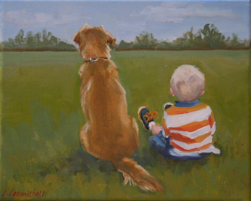 """pals"" original fine art by Carol Carmichael"