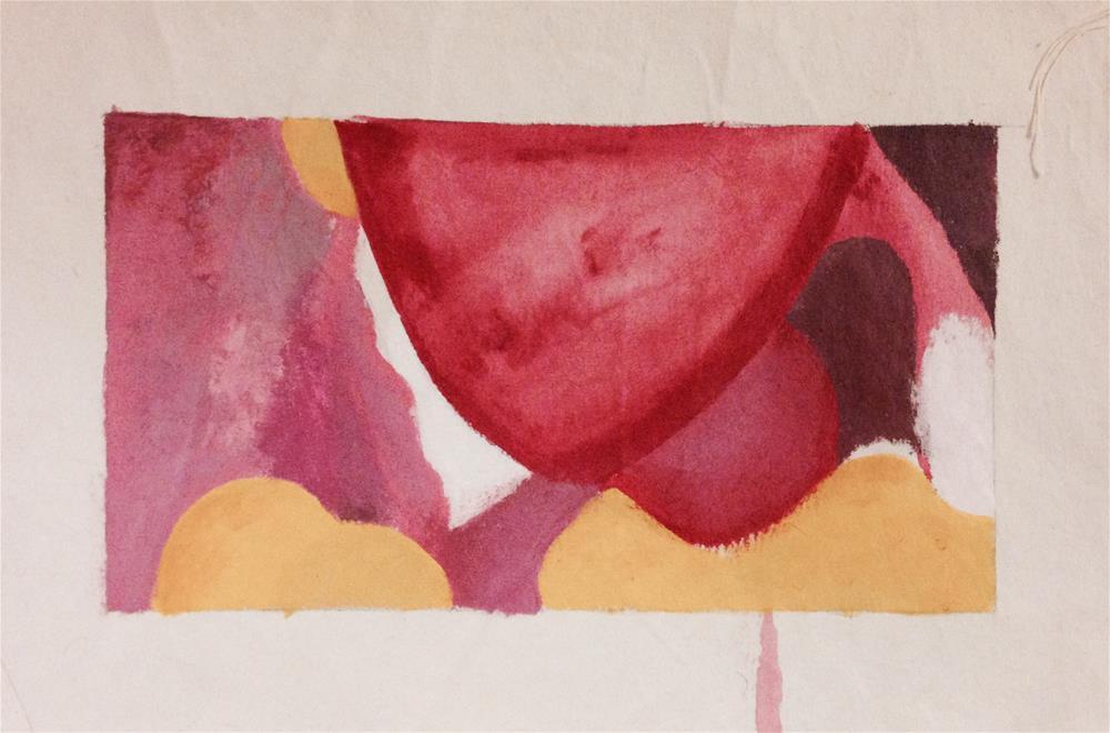 """Now You See It"" original fine art by Madeleine Hoffmeister"