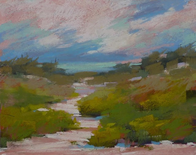 """Discovering the Magic of the Underpainting part 2"" original fine art by Karen Margulis"