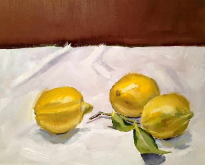 """Fresh From the Tree"" original fine art by Gary Bruton"
