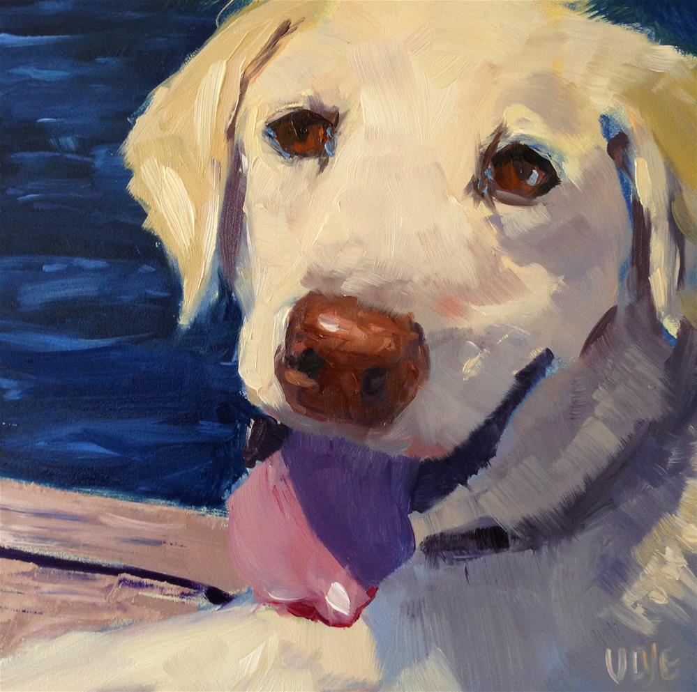 """#84 Man's Best Friend"" original fine art by Patty Voje"