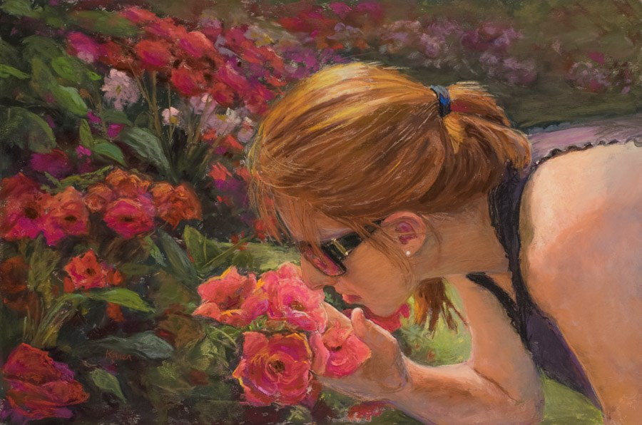 """American Beauties"" original fine art by karen israel"