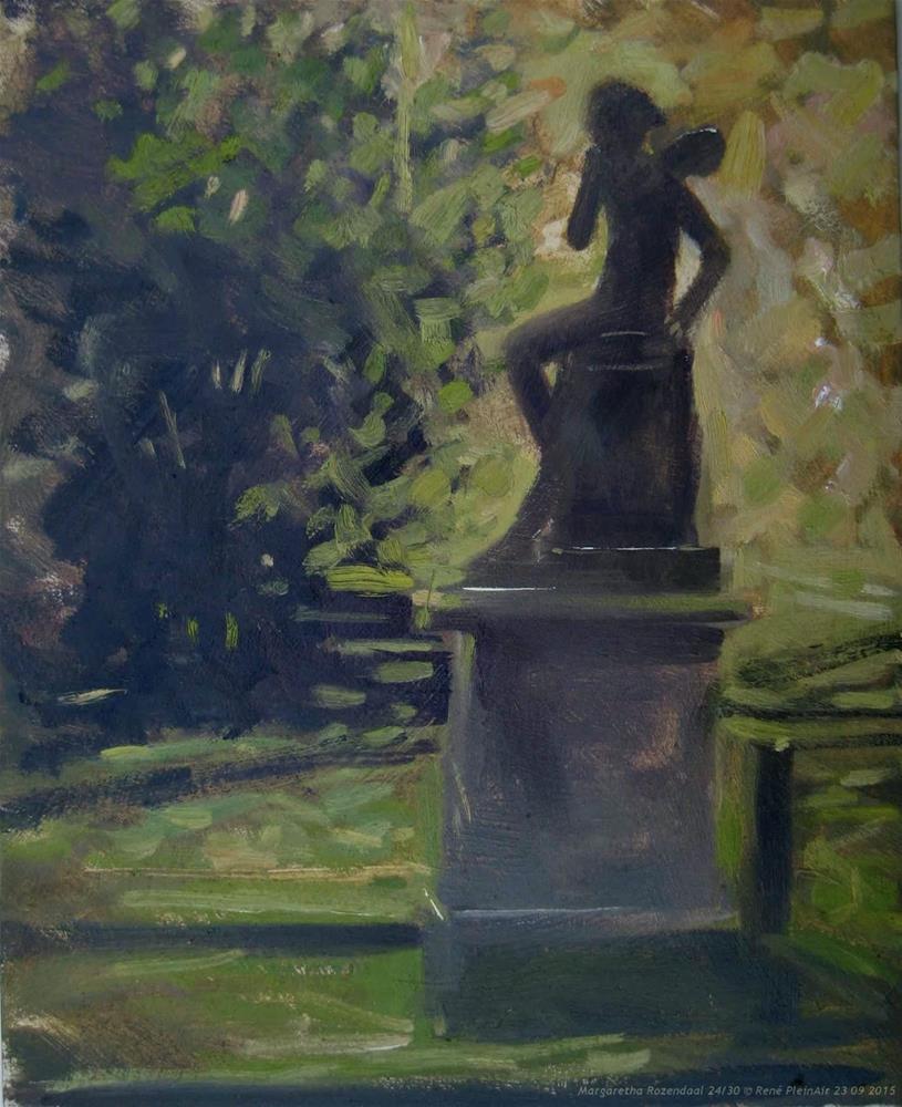 """""""Margaretha Rozendaal The Netherlands"""" original fine art by René PleinAir"""